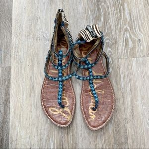 Blue Sam Edelman sandals size 8.5/9
